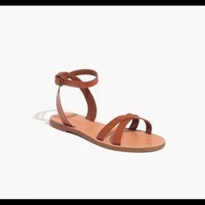 New! Madewell Boardwalk Sandals - SZ 10
